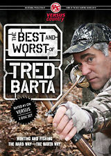 THE BEST AND WORST OF TRED BARTA Hunting Fishing Hunter Fisherman DVD SET NEW