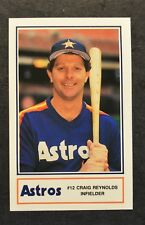 1988 Astros Police #19 Craig Reynolds HCA Deer Park Hospital