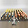 21 Pcs lego Minifigures MOC Star Wars Battle Droid Clone Guns Bonus Minikit Toys
