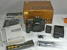 Nikon D7200 24.2MP Digital SLR Camera Body + Extras - Shutter Count: 2947