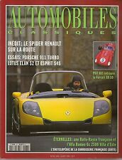 AUTOMOBILES CLASSIQUES 68 PORSCHE 993 TURBO FERRARI 250 TESTA ROSSA 1959 ALFA 6C