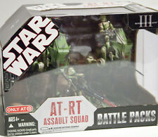 Star Wars Battle Pack AT-RT Assault Squad New Sealed