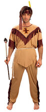 NATIVE AMERICAN INDIAN ONE SIZE WILD WEST FANCY DRESS COSTUME.