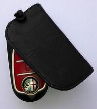 portachiavi Alfa mito Fiat 500 bravo punto panda in vera pelle protettivo
