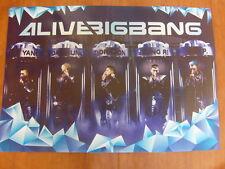 BIGBANG Alive Tour In Seoul 2012 Live Concert [OFFICIAL] POSTER K-POP *NEW*