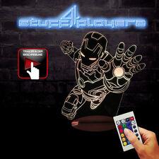 Iron Man Dekolampe Attack You (3D-Hologramm Illusion) (NEU)