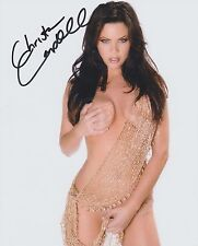 CHRISTA CAMPBELL * ACTRESS *  HIGH QUALITY 8 X 10  HAND SIGNED SUPER HOT W/COA !