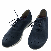 Munro American Wellesley Casual Suede Shoe-Women's Size 6.5M Blue