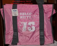 Sac Shopping-Cartable porté épaule Hello Kitty!