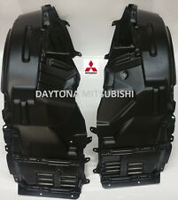 Genuine Mitsubishi Lancer EVO 8 Front Fender Liners Splash Shield Kit with Hardw