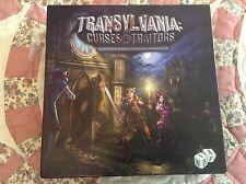 Transylvania: Curses and Traitors board game vampire werewolf