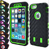 Heavy Duty Tyre Rugged Shock Proof Builder Case Cover For iPhone 8 7 6s Plus 5 X