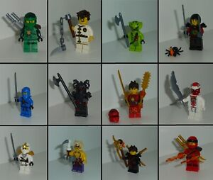 Lego ®  Minifigurine - NINJAGO Masters of Spinjitzu - Differentes Figurines NEUF