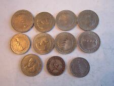 LARGE LOT OF 1950'S - 1960'S REPUBLIC OF NICARAGUA COINS - SEE LIST - OFC-A