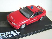 MAG HH087, OPEL COLLECTION, OPEL CALIBRA, FEUERWEHR/NOTARZT, 1:43 SCALE
