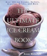 The Ultimate Ice Cream Book: Over 500 Ice Creams-ExLibrary
