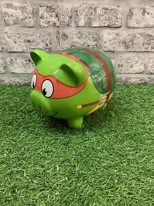 Teenage Mutant Ninja Turtles Piggy Bank Viacom F.A.B Starpoint TMNT Raphael