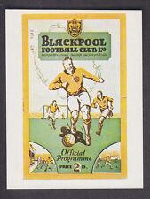 Panini - Football 84 - # 250 1952/53 Blackpool v Arsenal