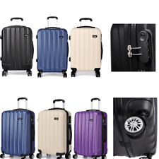 Hard Shell Cabin Suitcase Luggage Trolley Case Lightweight Spinner 20 Inch