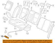 JAGUAR OEM 03-08 S-Type Rear Seat-Cushion Cover Left C2S49758