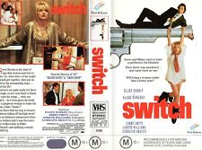SWITCH - Ellen Barkin - VHS - PAL - NEW - Never played! - Original Oz release