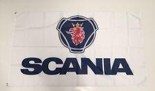Scania Truck Banner Flag Emblem Dash Bullbar Bonnet Semi Trailer Man Cave