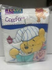 New Vintage DISNEY Bedtime POOH Crib Comforter Blanket Sealed Little Bedding Vtg