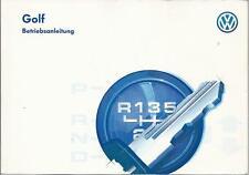 VW   GOLF 3  Betriebsanleitung 1996 Bedienungsanleitung  Handbuch Bordbuch  BA