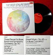 LP Siegel Schwall Band: Three Pieces for Blues Band & Orchestra  Polydor 2344157