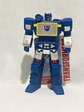 "Transformers Soundwave 6"" Vinyl Figure Walmart Exclusive War For Cybertron"