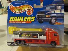Hot Wheels Haulers over the Road Trucks! Rescue Engine #1