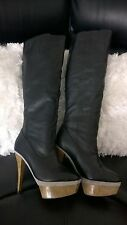 Ladies Siren Drift Knee High Boots - Size 7