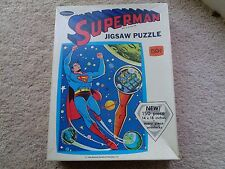 SUPERMAN JIGSAW PUZZLE 150 PIECE 14 INCHES X 18 1966 WHITMAN VINTAGE ORIGINAL