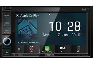 KENWOOD DNR4190DABS Mediaceiver 2-Din Navigation mit Bluetooth und DAB+