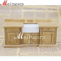 Dollhouse Fine 1:12 scale dollhouse miniature furniture wooden hand carved sink
