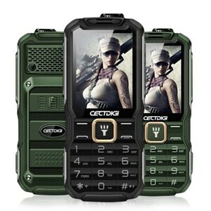 Rugged Mobile Phone Shockproof Dustproof Mobile Phone Power bank F/ Outdoor Use