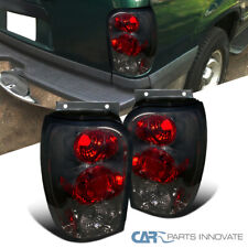 For 98-01 Ford Explorer Mercury Mountaineer Smoke Tail Lights Rear Brake Lamps