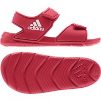 Adidas Kids Boys Sandals Altaswim Summer Water Pool Shoes Size UK 1 EU 33 Red