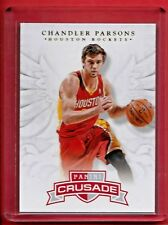 Chandler Parsons Lot (3)2012-13 Crusade RC 91,14-15 Certified 20 /299, Prizm 99