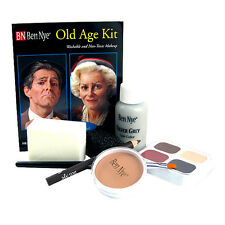 Ben Nye Old Age Kit Character Theatrical Stage Makeup HK-6