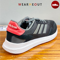 Adidas ARCHIVO Men's Walking Running shoes Black Grey Red Size 10.5 Best Deal 🔥