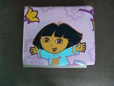 Dora the Explorer full flat sheet pink  ( Fabric / Material) New