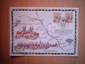 POSTBRIEF 500 JAHRE POST 1990