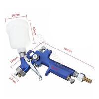 Car Spray Paint Gun 0.8MM 1MM 1.4MM 1.7MM Nozzle Gravity Feed Air Mini Jet Smart
