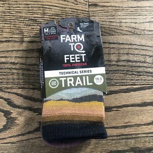 Farm To Feet Trail Max Patch Light Weight Size Medium Mens 6-8.5/ Women 7-9.5