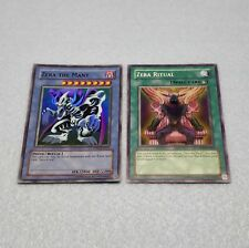 Yugioh Zera the Mant Zera Ritual Super Rare Premium Pack 2 Card Set Bandit Keith