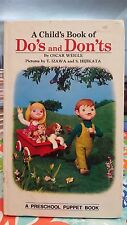 CHILDREN'S BOOK 3D PUPPET BOOK DO'S AND DON'TS