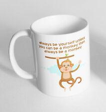 Monkey Funny Design Novelty Gift Idea Coffee Tea Mug 277