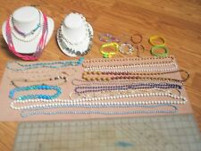 25pcs ~Mostly new~ Jewelry lot ~Necklace or Bracelet/Bangle .Excellent # NBX 15