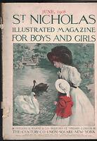 St Nicholas Magazine June 1908 Famous Indian Chiefs Carolyn Wells